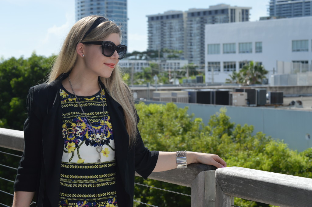 How to Style Geometric Florals - Miami Design District - Cup of Charisma