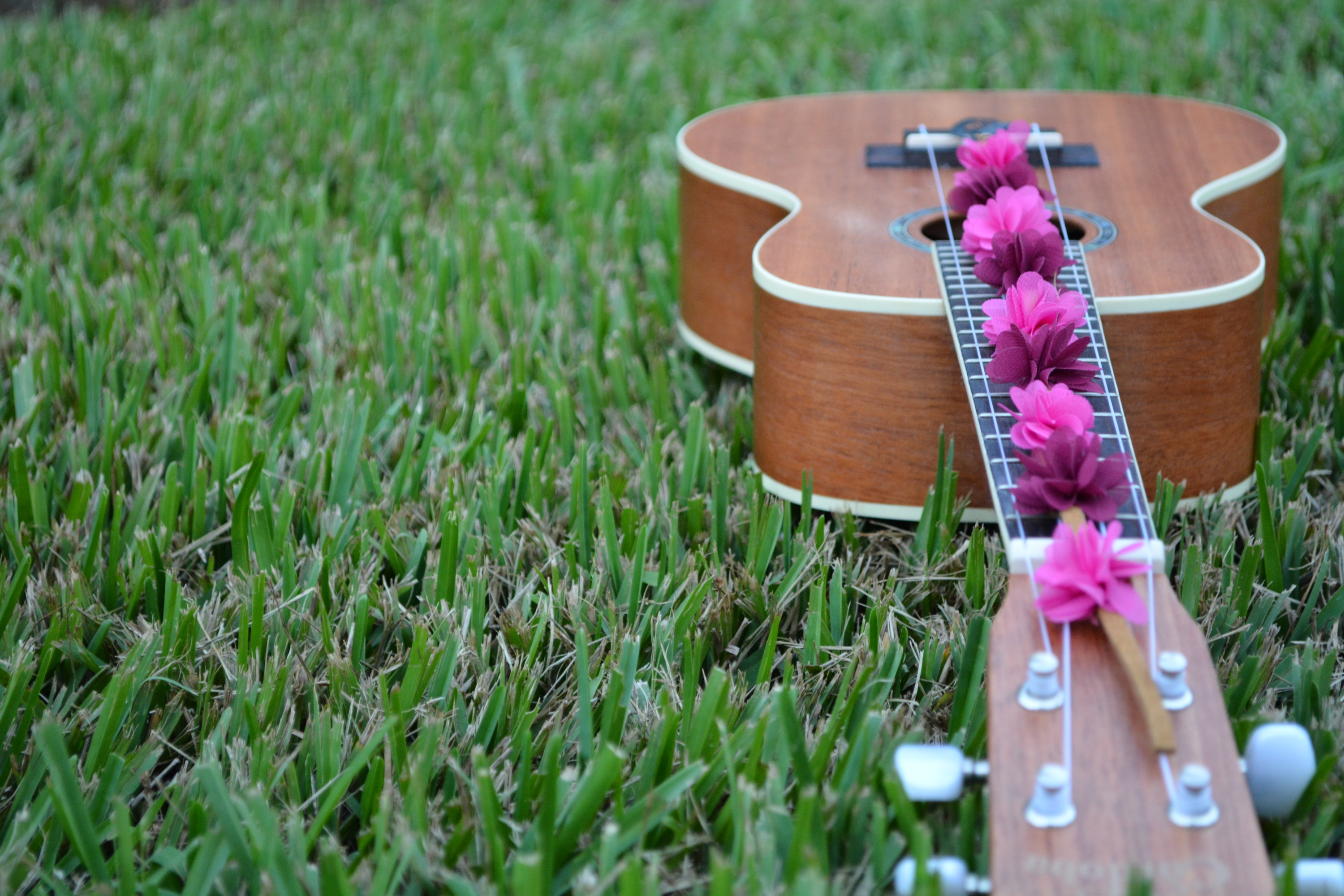 Ukulele Flower Child Hair