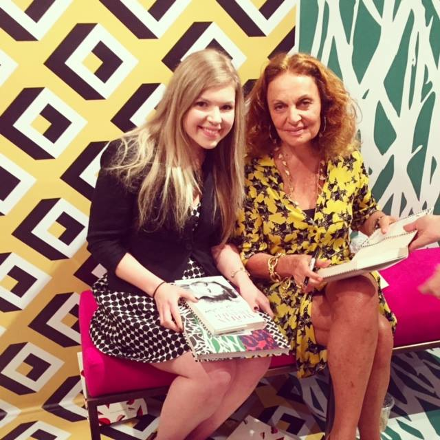 DVF and jill