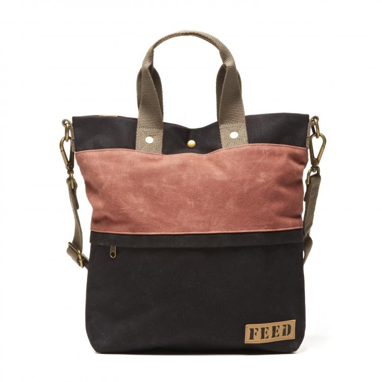 FWAX011-Waxed-Canvas-Go-To-Bag-Clay-Front_main