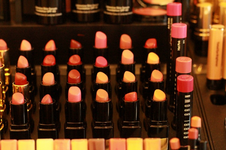 Cos Bar Bobbi Brown display at Market Street