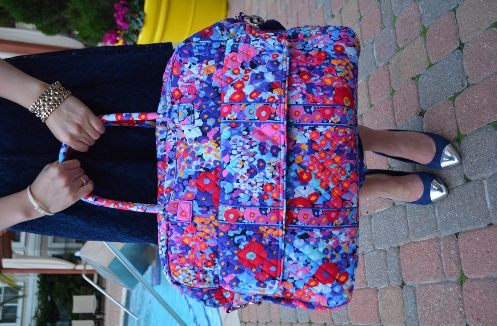 Travel Bag Vera Bradley Impressionista