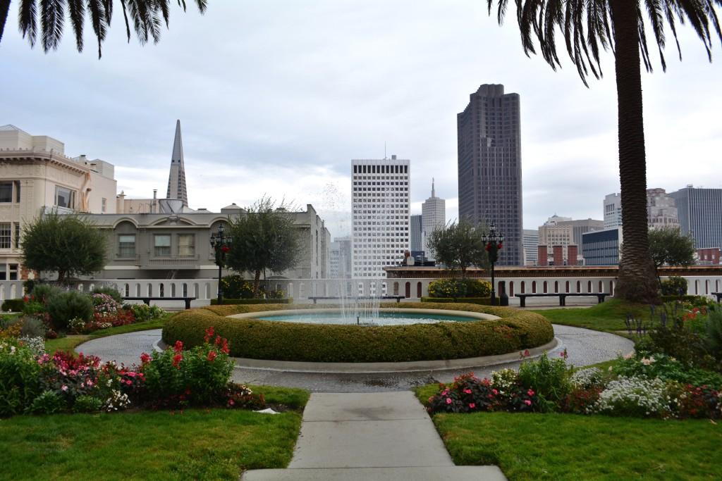 Rooftop Garden at the Fairmont San Francisco