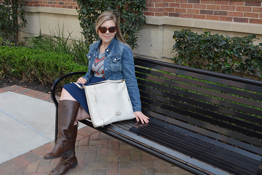 Cup of Charisma's Take on Rodeo Style with Modcloth riding boots