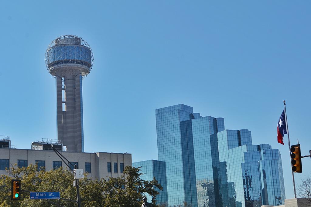 Places to Go in Dallas - Reunion Tower in Dallas Texas