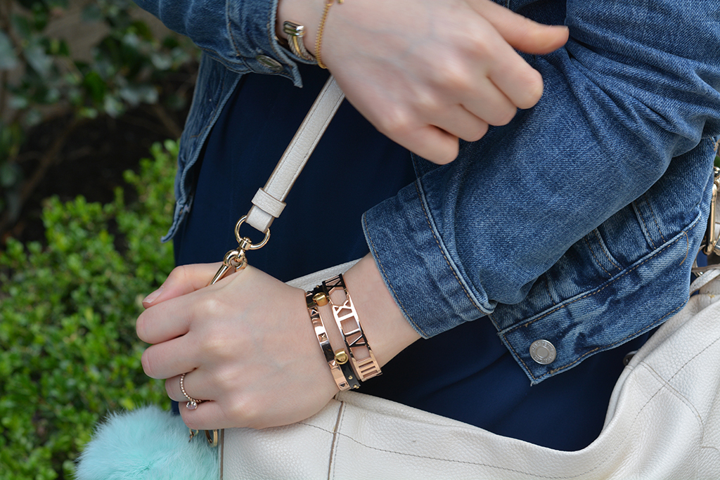 Peach Box Jewels in Rose Gold - Rodeo Style Details