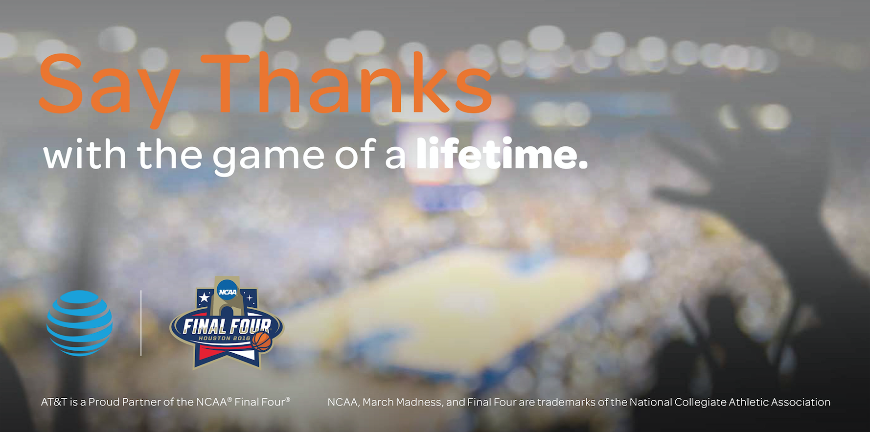 AT&T Pay it Fourward March Madness