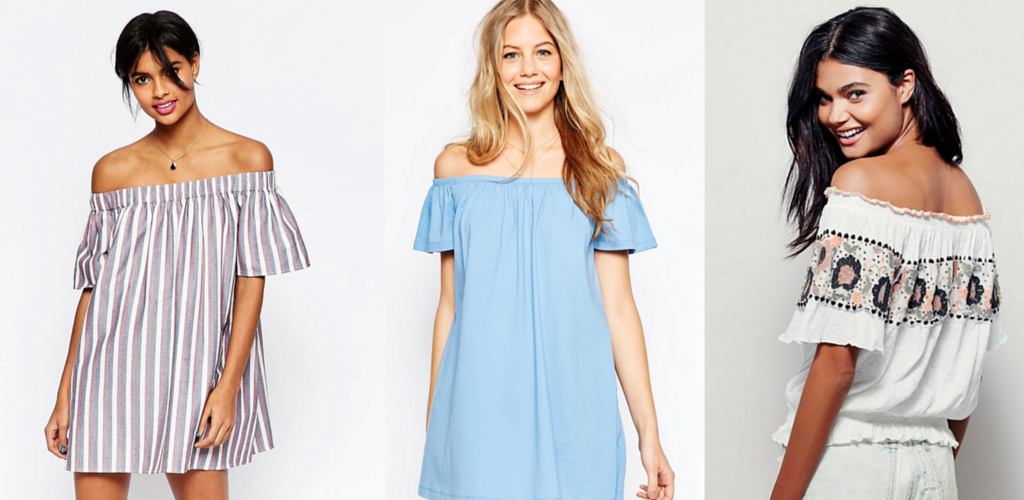 How to Style the Off the Shoulder Trend