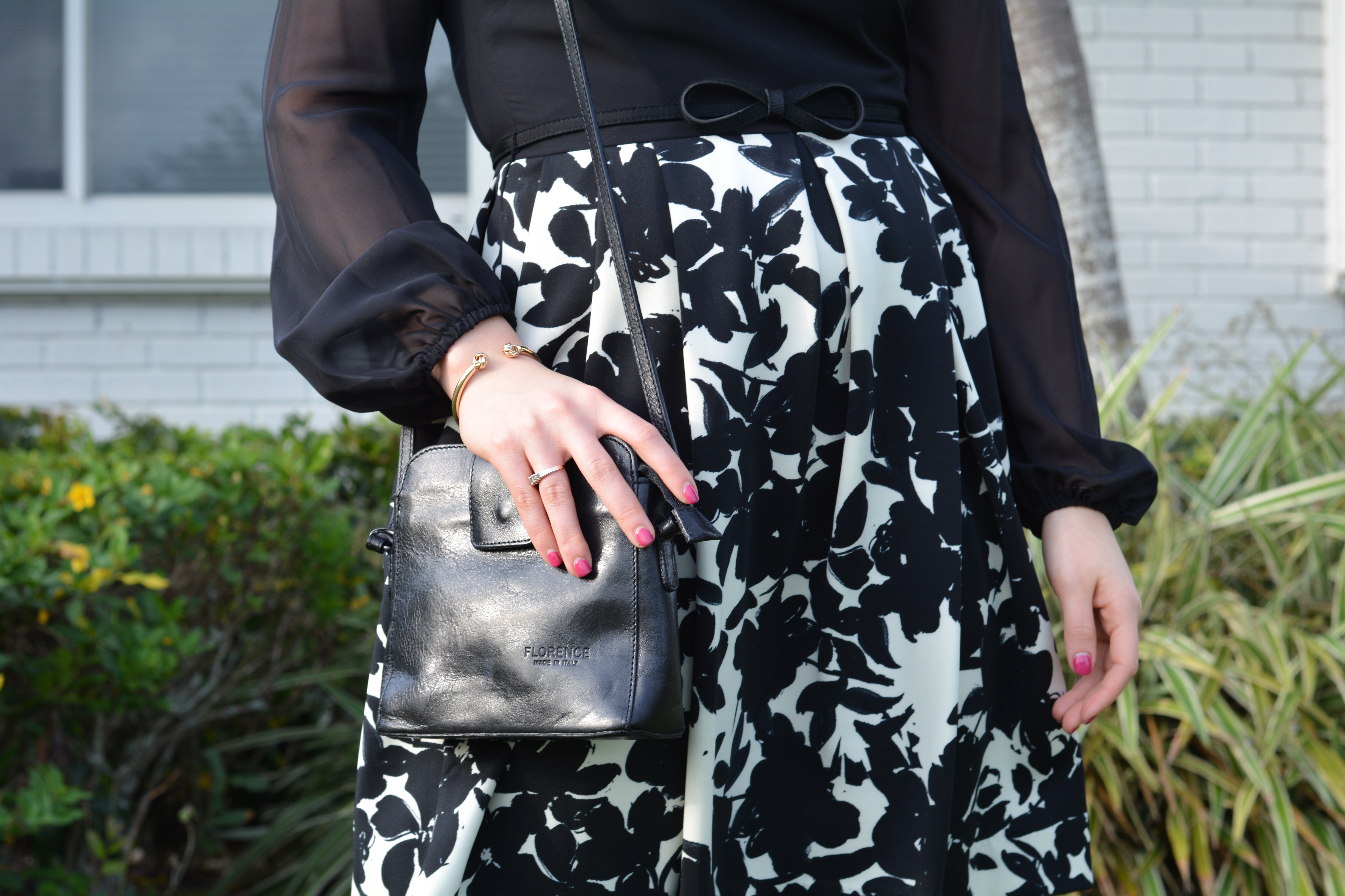 Cup of Charisma - Black and White Spring Dress - Spring Style