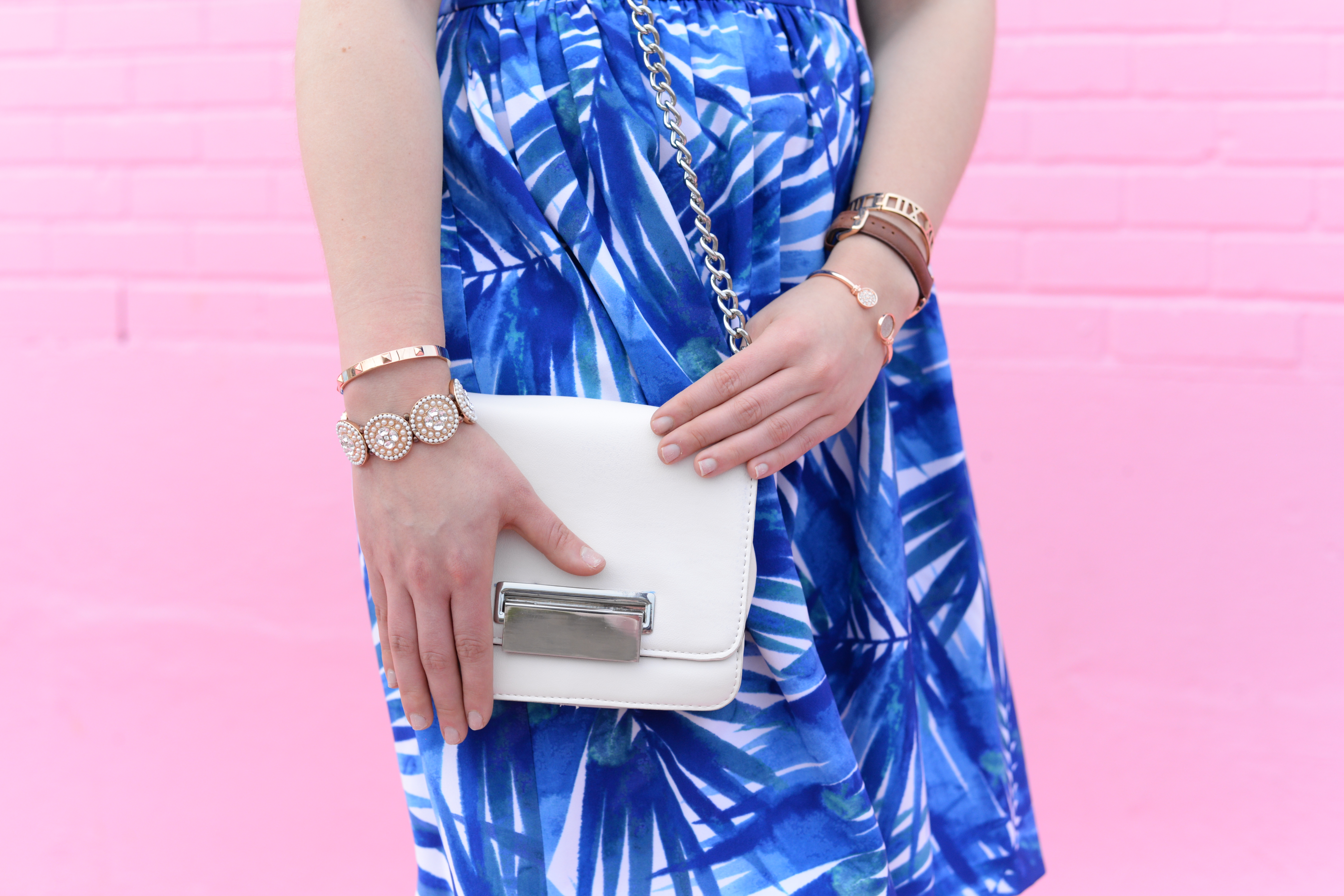 Summer Style: Accessorizing the Perfect Palm Tree Printed Dress