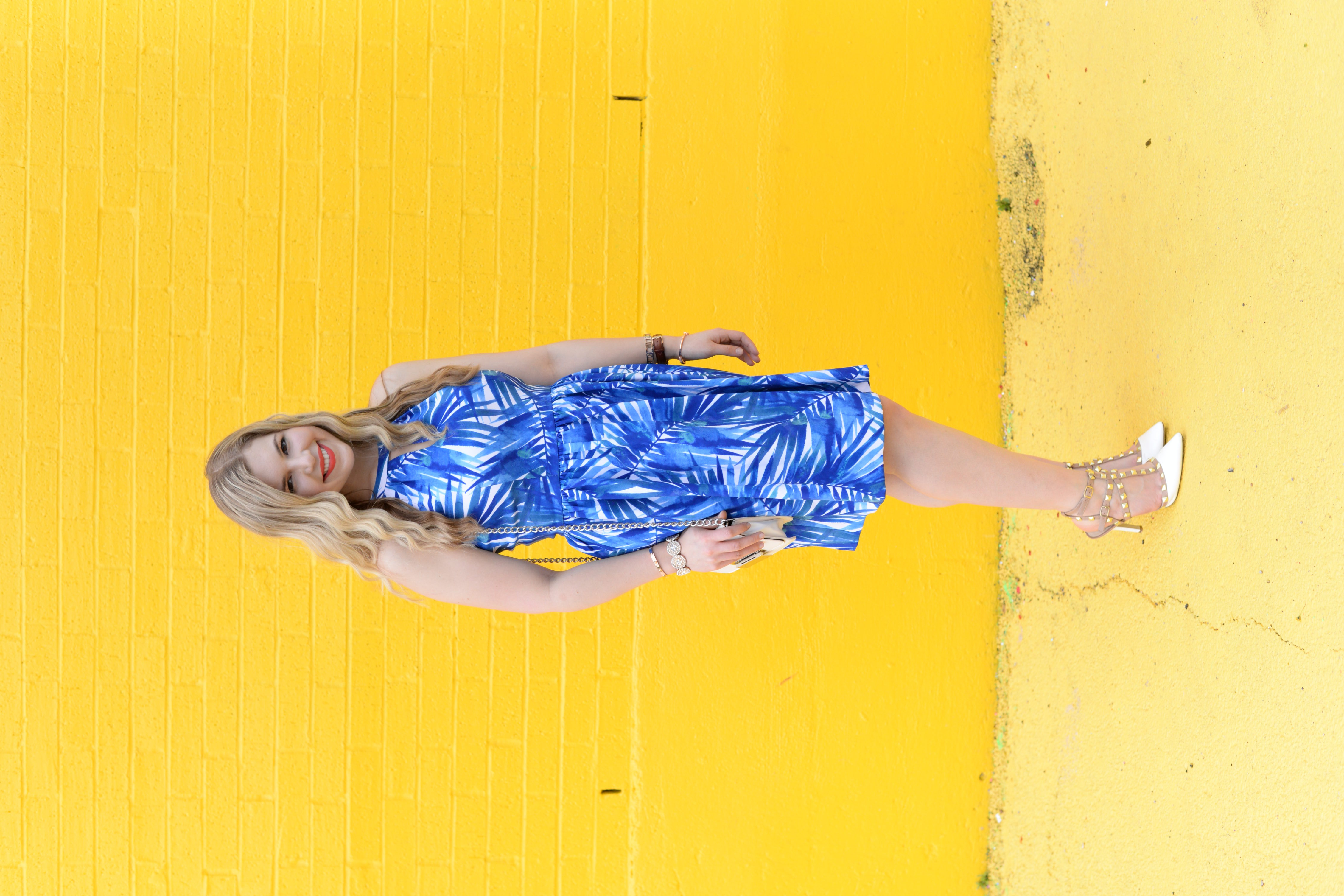 Summer Style: The Perfect Palm Tree Printed Dress