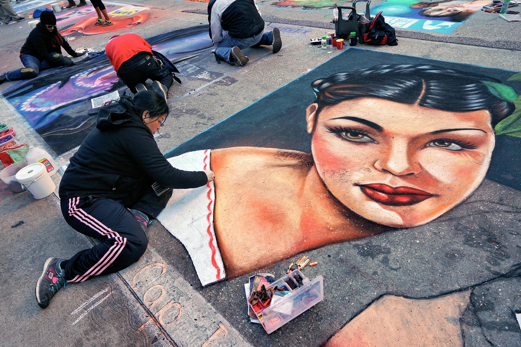 Alba Amezcua at 2015 Houston Via Colori