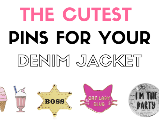 Cute Pins for Your Denim Jacket