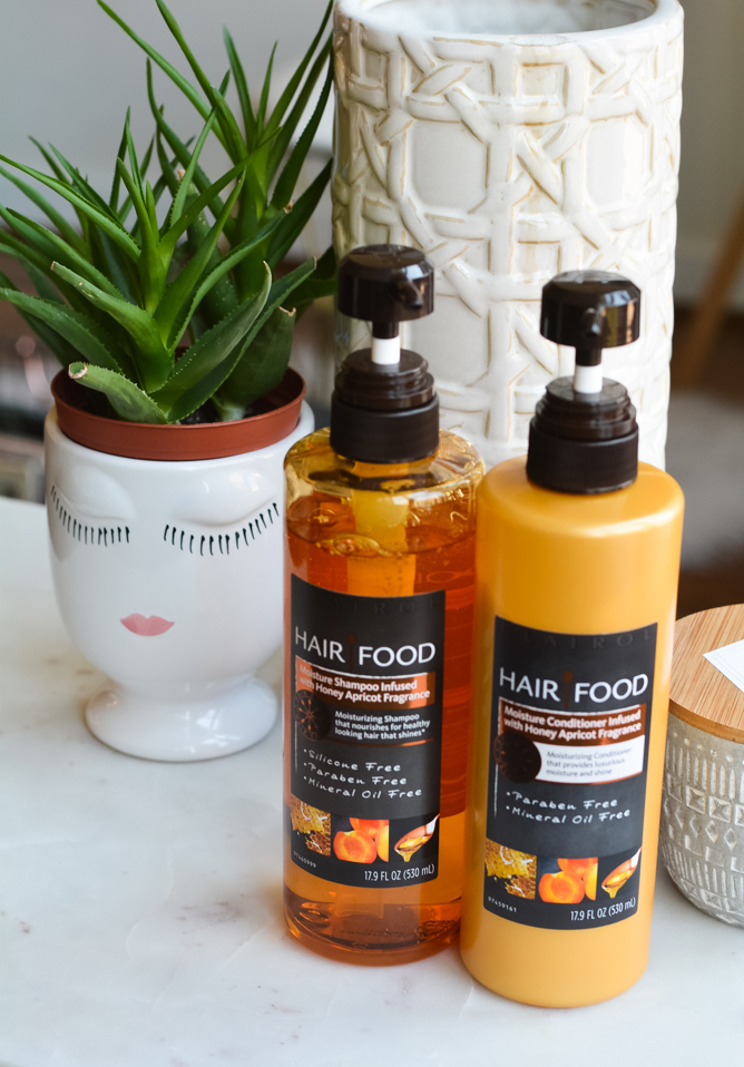 My Healthy Fix to Combat Dry Hair - Hair Food Moisture Collection Review on Cup of Charisma