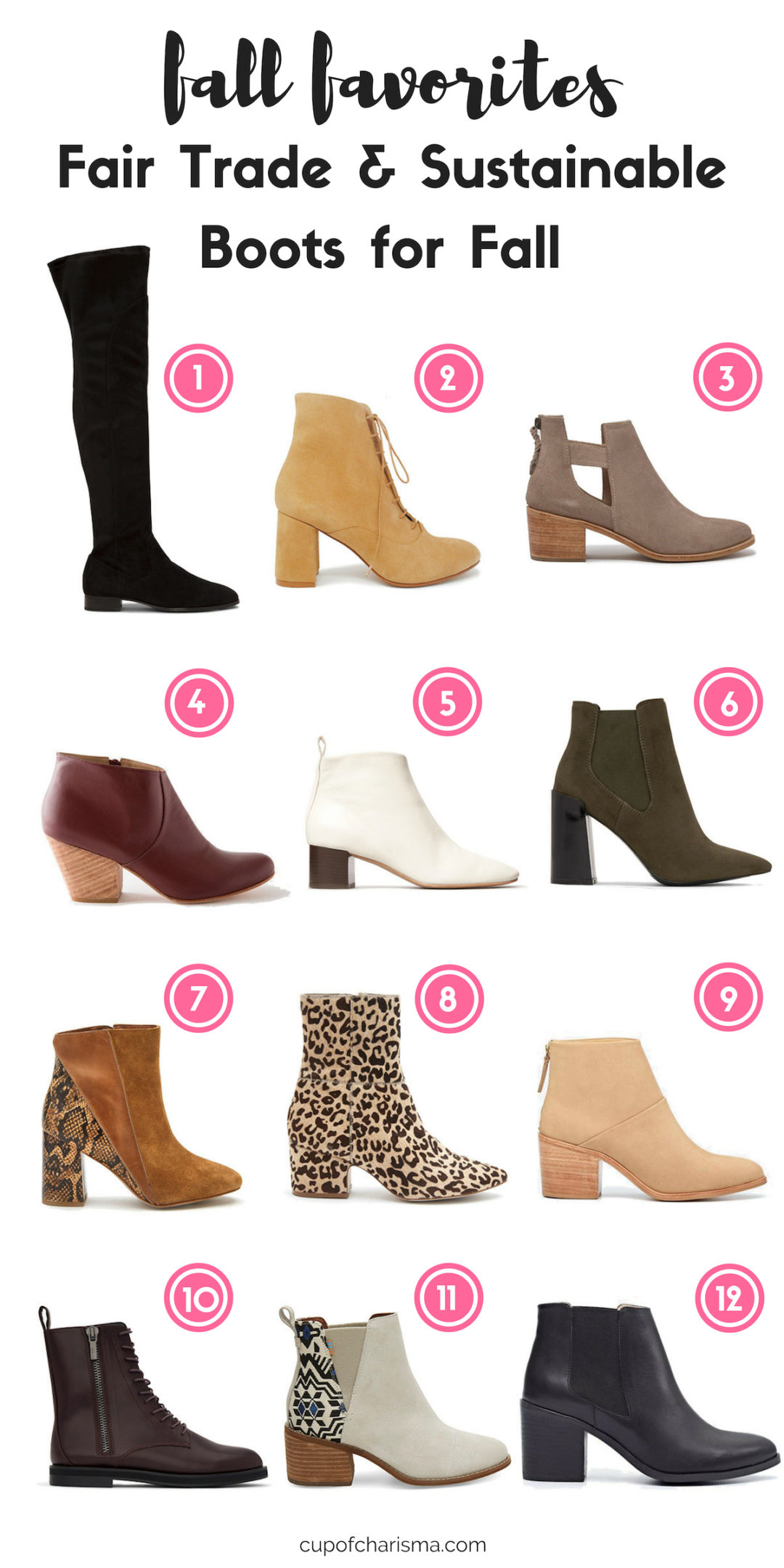 12 Fair-Trade and Sustainable Boots for Fall - Cup of Charisma