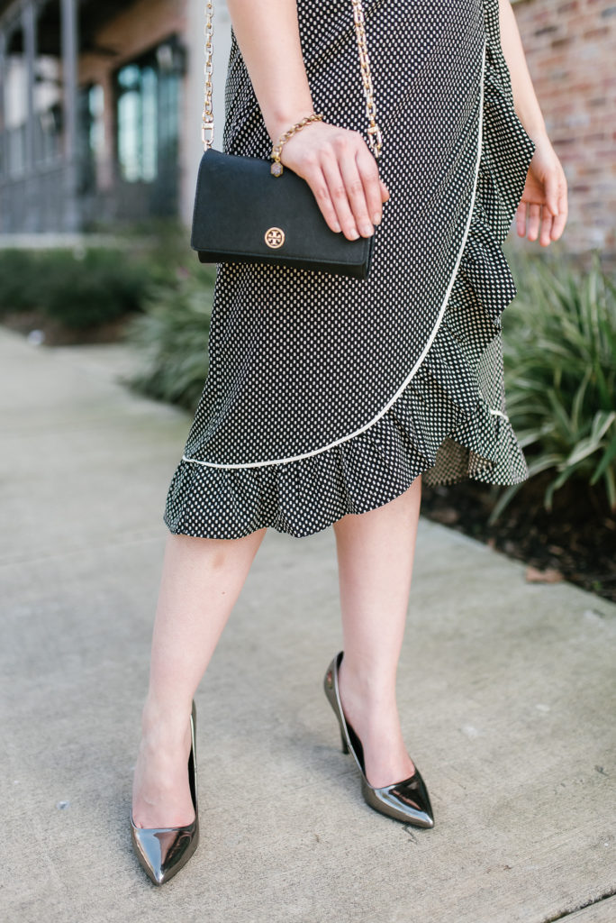 5 Lessons I Wish I Knew Before Graduation - Black Checkered Target Dress
