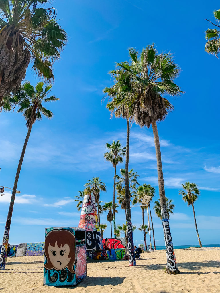 Venice Beach Graffiti Park - Best Photography Locations in Los Angeles - LA