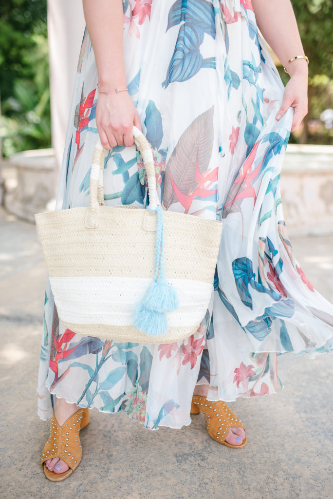 Positive Affirmations to Live By - Chicwish Floral Maxi Dress for Summer - Jillian Goltzman, Cup of Charisma Houston Lifestyle Blog 9
