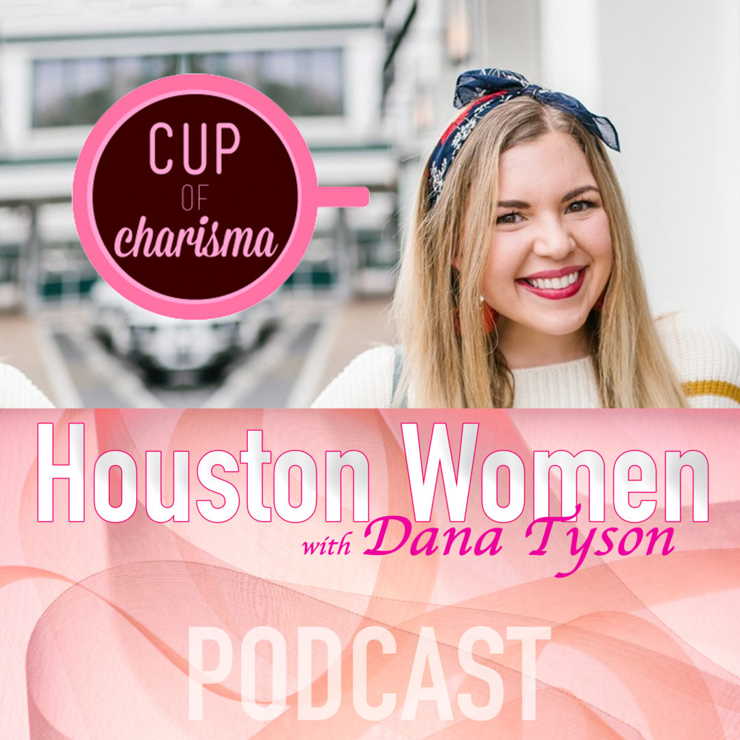 Houston Women with Dana Tyson on Sunny 99.1 Interview with Jillian Goltzman, Houston lifestyle blogger at Cup of Charisma
