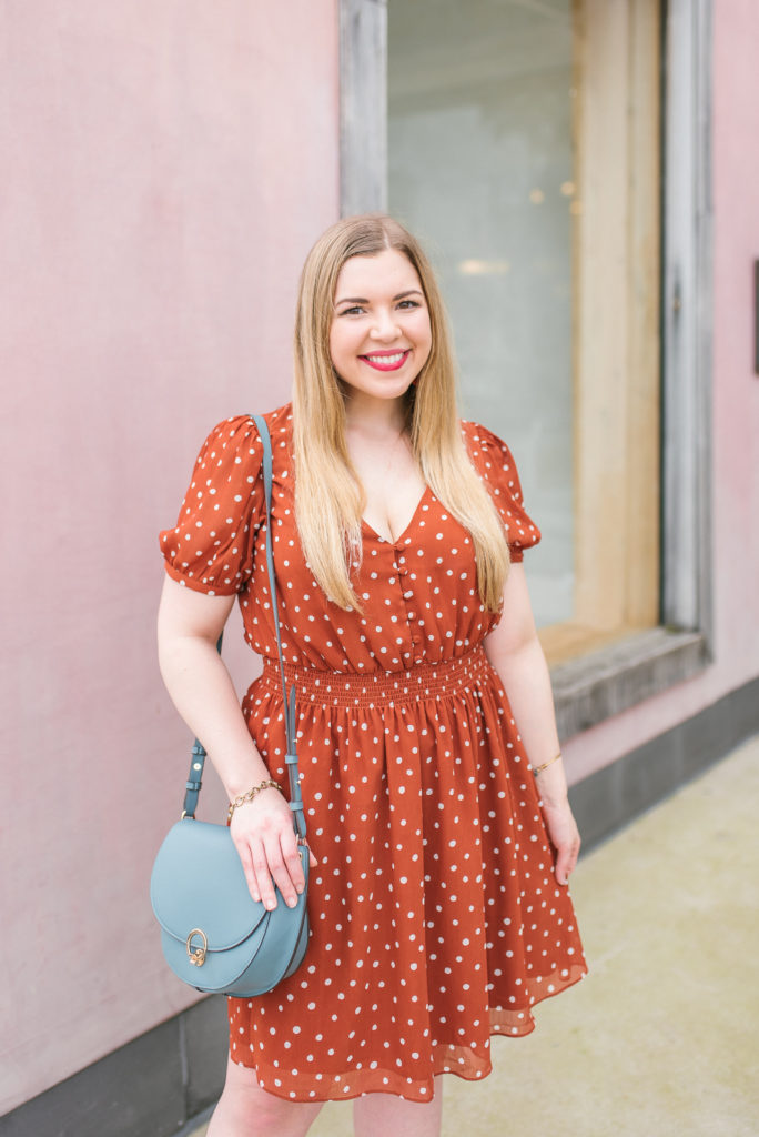 Madewell Polka Dot Dress on Lifestyle Blogger Cup of Charisma - My Self-Care Toolkit: 10 Tips I Practice Weekly