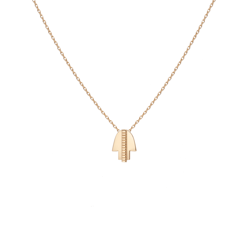 AUrate Hamsa Necklace - Gold Necklaces for Fall